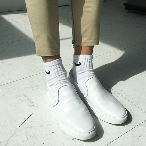 CP Slip-On Shoes (White)