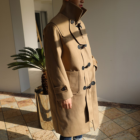 GR Cashmere Duffle Coat (2color)