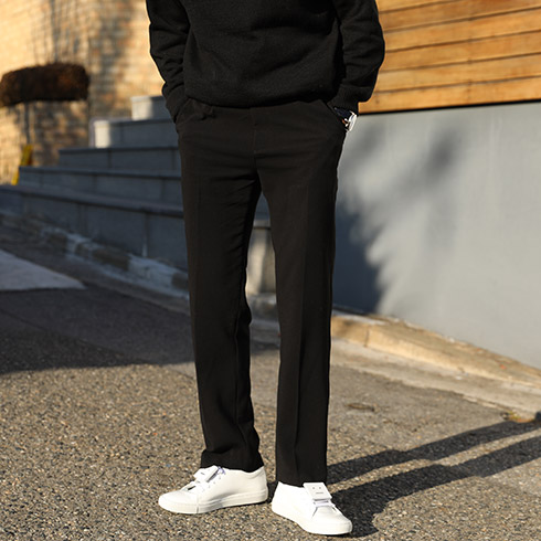 AD 17S/S Long Wide Slacks (3color)