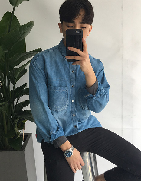IC Diorr Denim Shirt