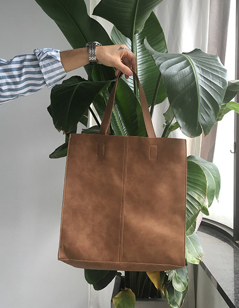 Leather Totebag (6color)