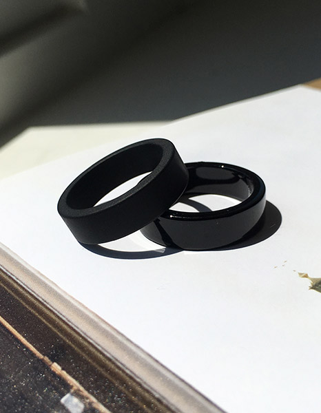 Chic Black Ring (2type)
